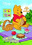 Picnic with Pooh (Color Plus Sticker Roll) (0375875131) by RH Disney