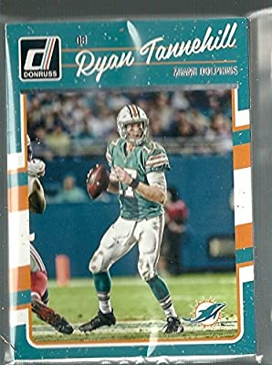 2016 Panini Donruss Football Miami Dolphins Team Set 12 Cards W/Rated Rookies & Rookies