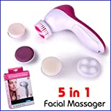 ASkyl All In One 5 In 1 Face Massager / Facial Massager / Beauty Massager / Face Scrubber By ASkyl