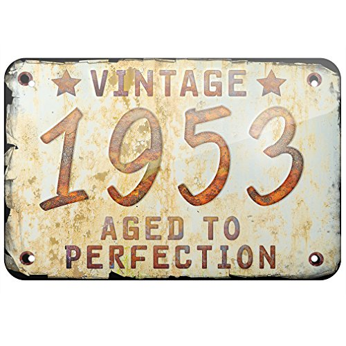 Metal Sign Vintage Year 1953