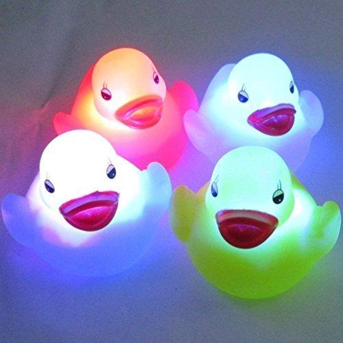 4pcs-waterproof-colour-change-led-duck-unisex-baby-kids-children-bath-mood-lamp-night-light-by-playl