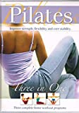 img - for Pilates Three in One, Three Complete Home Workout Program book / textbook / text book