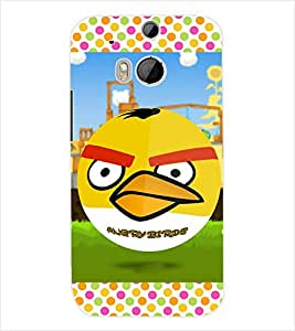 ColourCraft Cartoon Back Case Cover for HTC ONE M8