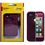 Otterbox Defender Case for iPhone 4S & 4 - Peony Pink/Deep Plum