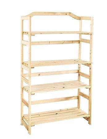 TH Scaffali multifunzionali Ripiani in legno massello Ripiani per studenti Ripiani per studenti Quattro scaffali Librerie