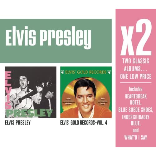 X2-Elvis-Presley-Elviss-Gold-Records-4-Elvis-Presley-CD