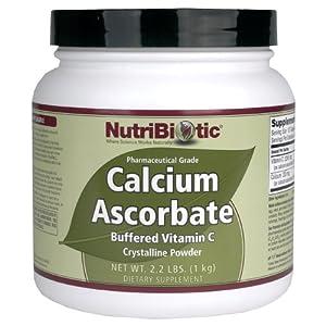 Nutribiotic Calcium Ascorbate Powder, 2.2 Pound