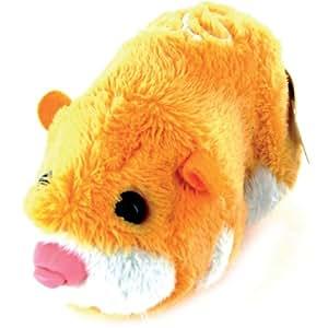 Giochi Preziosi - 2800 - Zhu Zhu Pets - Peluche Interactive - Hamster Jaune - Pipsqueak