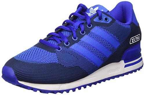 Adidas Zx 750 Wv Scarpe Low-Top, Uomo, Blu (Blue (Bold Blue/Blue/Ftwr White)), 44 2/3 EU