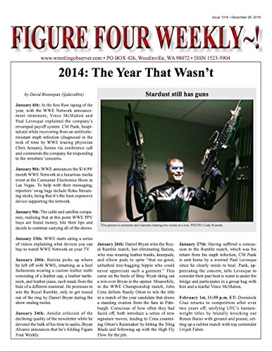 Figure Four Weekly, December 26, 2014 -- The Year That Wasn't (Figure Four Weekly compare prices)