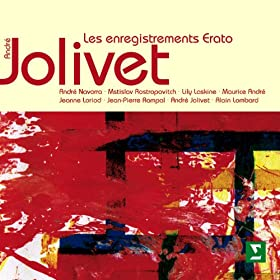 Jolivet : Concerto for Harp and Chamber Orchestra : I Allegro volubile