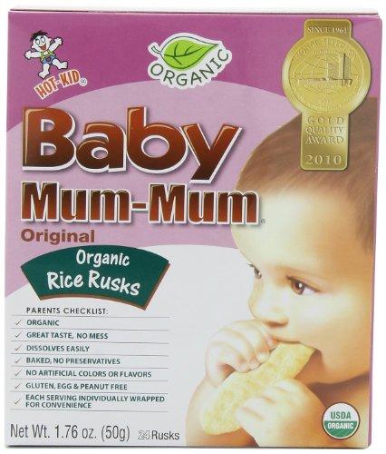 Mum Mum Rice Biscuits - Original Organic - 1.76 oz