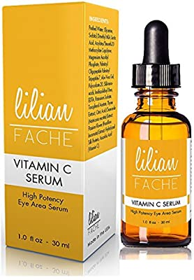 Lilian Fache Vitamin C Serum - Highly Concetrated Anti Aging Skin Care, 30 ml