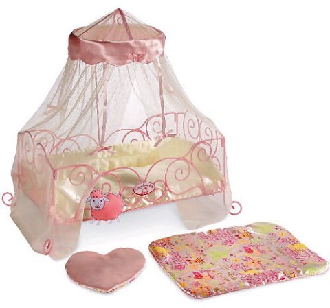 Baby Annabell Metal Interactive Doll Bed - Zapf Creation front-144941