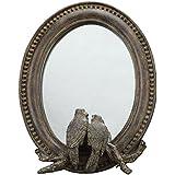 Creative Co-Op Resin Bird Mirror By Creative Co-op