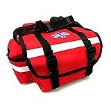 LINE2design EMS EMT Firefighter Paramedic First Responder First Aid Rescue Trauma Bag Red