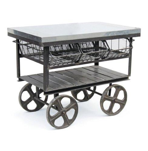 Cheap Industrial Loft Console Merchandise Island Bar Table (B0083VCAN8)