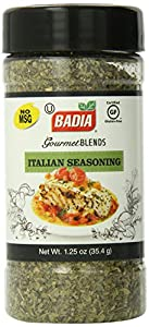 Badia Italian Seasoning, 1.25-Ounce (Pack of 6)
