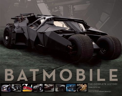 Book Preview: Batmobile: The Complete History