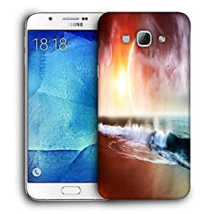 Snoogg Beach View Printed Protective Phone Back Case Cover For Samsung Galaxy Note 5