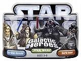 Hasbro 85211 Star Wars Galactic Heroes Mini-Figure 2 Pack - Obi-Wan Kenobi and Darth Vader