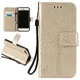 7 Plus Case,iPhone 7 Plus Case,iPhone 7 Plus leather Case,Creativecase Elegant [Wallet Case]PU Leather Flip Case [Magnetic Closure]+Lanyard Case for iPhone 7 Plus 5.5 inch