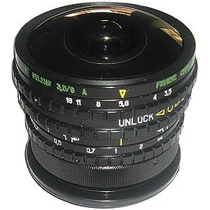Belomo MS Peleng 3.5/8mm Fisheye Lens for Canon EOS Cameras, New