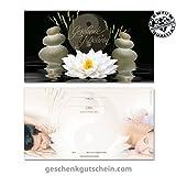 50 Stk. Geschenkgutscheine für Massage, Wellness und Spa MA1229