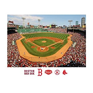 MLB Boston Red Sox Inside Fenway Park Mural Wall Graphic by Fathead