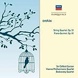 DVORAK: String Quartet, Op. 51; Piano Quintet