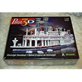 Puzz 3 D: Mississippi Steamboat (718 Pieces/Difficult)