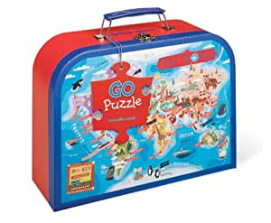 Amazon Com World Map Floor Puzzle 50 Pieces Toys Amp Games