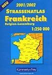 Strassenatlas Frankreich , Belgien, L...
