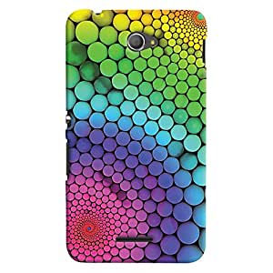 ColourCrust Sony Xperia E4 Mobile Phone Back Cover With Colourful Pattern Style - Durable Matte Finish Hard Plastic Slim Case