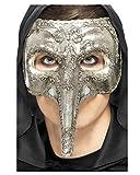 Pico veneciano máscara de plata