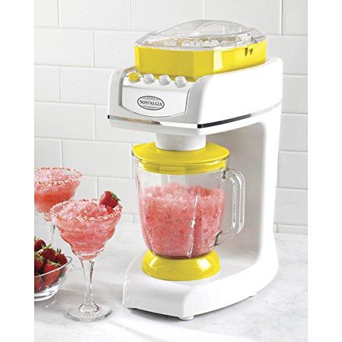 Nostalgia Electrics Metal Plastic MMA800 Margarita and Slush Maker includes: One (1) slush maker, one (1) 56-ounce glass pitcher (Wine Slushie Machine compare prices)