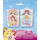 Disney Princess Disney Princess Note Pads, 4 Count