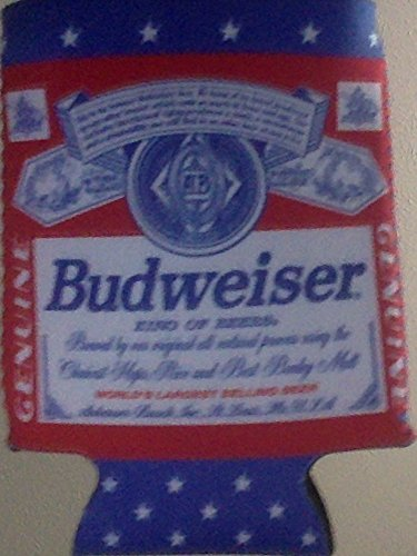 budweiser-king-of-beers-4-can-kaddy-holders-cooler-koozie-set-of-4