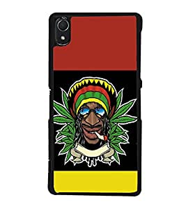 printtech Jamaica Weed Cool Back Case Cover for Sony Xperia Z3 , Sony Xperia Z3 D6653 D6603