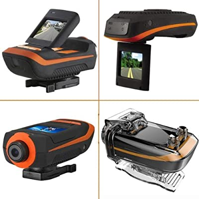 GPS Full HD 1080P 5MP Sensor Waterproof 50 Meters Sports Camera