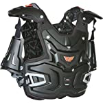 Fly Racing Adventure Pro Adult Roost Deflector Off-Road/Dirt Bike Motorcycle Body Armor - Black / One Size