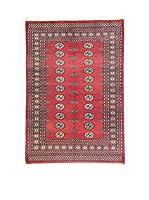 L'Eden del Tappeto Alfombra Kashmir L/Australia Rojo / Azul 125 x 188 cm