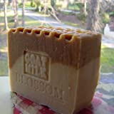 Goat's Milk with Golden Blossom Honey and Oatmeal Soap (Exfoliant) Made With Local Farm Fresh Goat Milk ~ Natural Handcrafted...