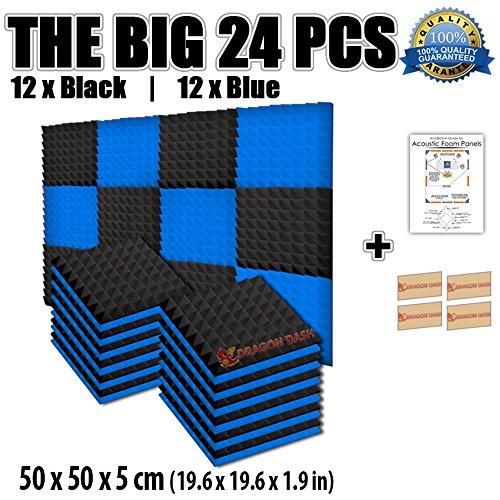 super-dash-combinazione-pacco-da-24-di-50-x-50-x-5-cm-piramidali-fonoassorbenti-isolanti-studio-acus