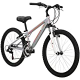 Diamondback Bicycles 2015 Octane 24 Complete Hard Tail Mountain Bike, 24-Inch Wheels/One Size, Silver