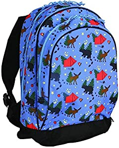 Wildkin Sidekick Backpack,One Size,Camping.Camping