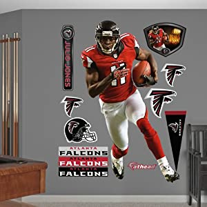 NFL Atlanta Falcons Julio Jones Home Wall Graphics by Fathead