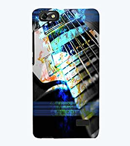 PRINTSWAG GUITAR Designer Back Cover Case for HUAWEI HONOR 4C