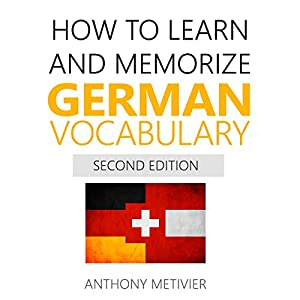 How to Learn and Memorize German Vocabulary Audiobook