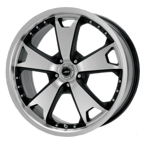 American Racing TXM AR364 Matte Black Wheel with Machined Face and Lip (22x9/5x114.3mm)